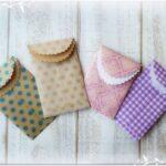 セリアの折り紙と3COINSのハサミを使ってポチ袋作り♪