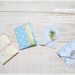 100均折り紙と水引きで見栄えの良いポチ袋作り♪その2
