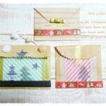 ダイソーとセリアの折り紙でクリスマス向けの簡単ラッピング封筒作り♪