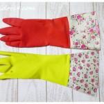 ナチュラルキッチンとセリアの可愛いゴム手袋の比較♪破れても再利用する術をご紹介☆