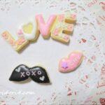 バレンタイン向きのアイシングクッキーを習ってきました♪作り方を詳しくご紹介します。本番編♪