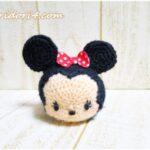 ディズニーツムツム編みぐるみ♪編み物初心者でもミニーちゃんを作れました☆