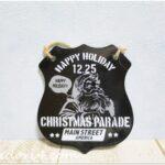ブルックリンテイストで男前インテリアにもぴったり♪クリスマスダイカットブリキボード☆セリア☆