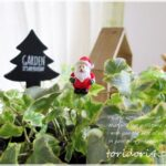 セリアで小さなクリスマスを♪