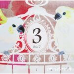 2017年版 キャンドゥ&セリアの鳥かごカレンダー♪付け外しがぐんと楽になる方法もご紹介♪