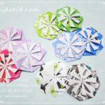 折り紙やA4用紙でできる華やかなポチ袋の作り方♪動画付き♪